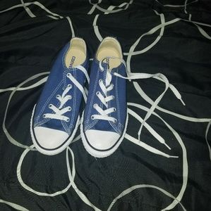 Youth size 2 Royal Blue Converse